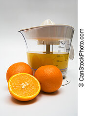 juice extractor with juice - Modern juice extractor with...