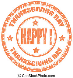 Thanksgiving Day-stamp