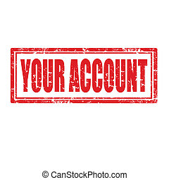 Your Account-stamp