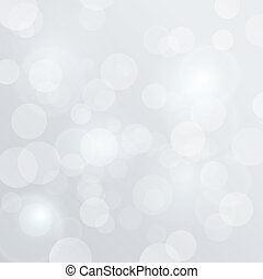 Bokeh Blurred Vector White Glow Background abstract