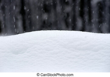 snow texture - winter background with snow texture close up...