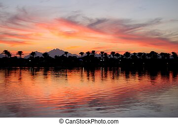 Hurgada At Sunset, Egypt - Hospitable Hurgada At Warm...