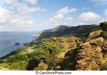 San Andres de Teixido - San Andres cliffs in the north coast...