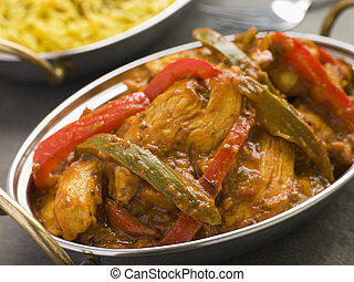 Chicken Jalfrezi Restaurant Style