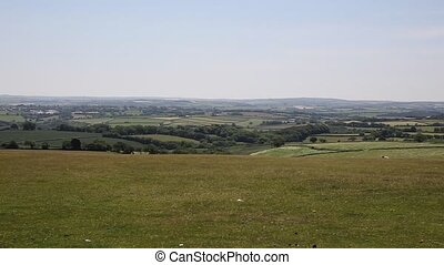 Bodmin Moor view Cornwall UK
