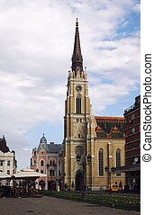 Cathedral in Novi Sad, Serbia - Saint George's Cathedral in...