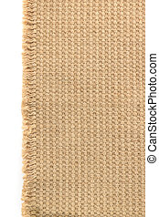 burlap hessian sacking on white - burlap hessian sacking...