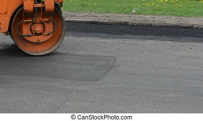 road repair works