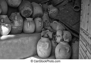 Plain pottery in Morocco - Pottery in Morocco is an old...