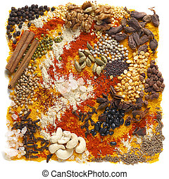 Indian pulses and spices - A huge range of indian spices and...