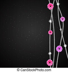 Gerbera flower background
