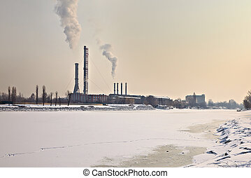 Winter Power Station