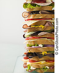 Dagwood Tower Sandwich