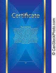 certificado, Diploma