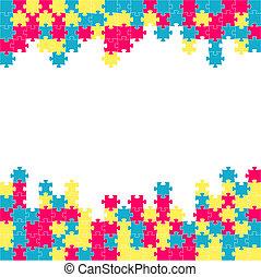 The puzzle border