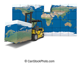 Global transportation - Concept of global transportation,...