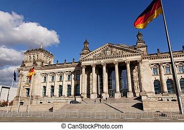 Deutscher Bundestag German Parliament - The Reichstag German...