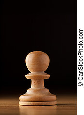 pawn chess - photography of white pawn chess on wood table