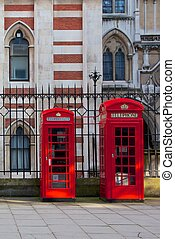 Red London Telephones