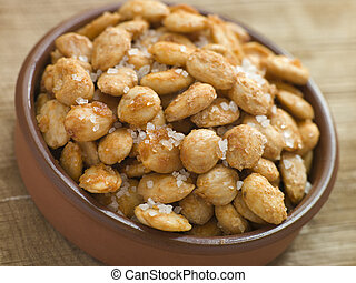 Spiced and Salted Macadamia Nuts
