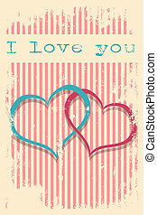 valentines day card wallpaper vector illustration format
