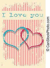 valentines day card wallpaper vector illustration format