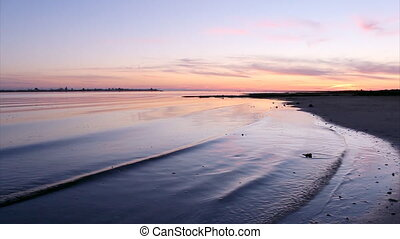 Sunset in Ria Formosa conservation - Sunset in Ria Formosa...
