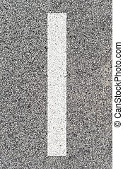 Road Markings - A close up shot of road markings