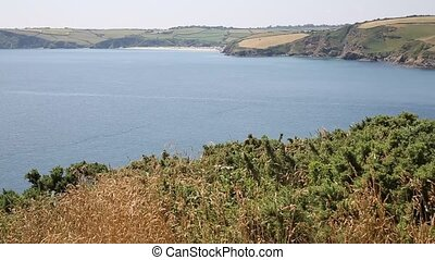 Mevagissey Bay Cornwall UK - Mevagissey Bay from Black Head...