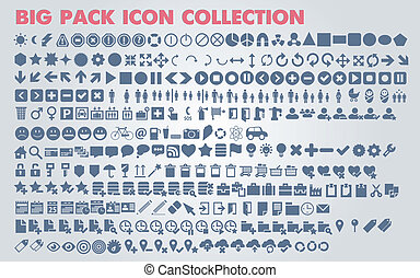 Collection of universal web icons - Collection of universal...