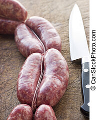 Tuscan sausage in Links
