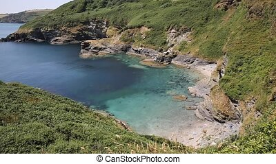 Secluded beach and cove Cornwall - Secluded beach and cove...