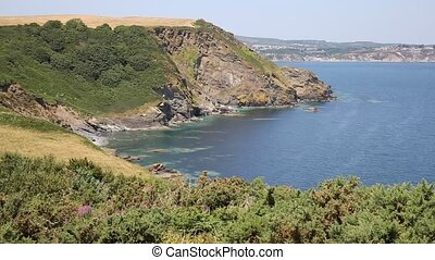 View of St Austell Bay Cornwall - View of St Austell Bay...