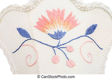 Blekinge embroidery - Old traditional embroidery from...