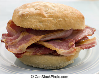 Bacon Bread Roll