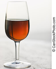 Glass of Sweet Marsala