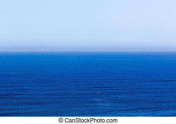 azul, oceânicos, azul, céu