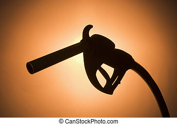 Silhouette Of A Fuel Pump