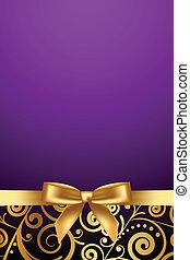 purple luxury frame