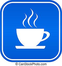 Cafe sign illustration