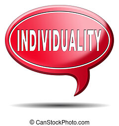 individuality stand out from crowd being different having a...