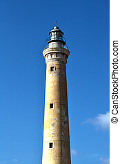 Faro - structure of the village of San Vito Lo Capo, Trapani