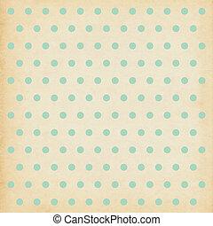 Polka dot vintage background illustration