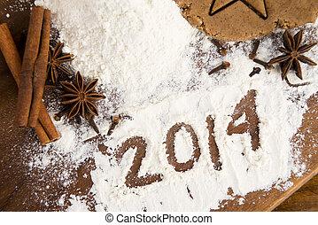 The inscription on the flour - 2014 - The inscription on the...