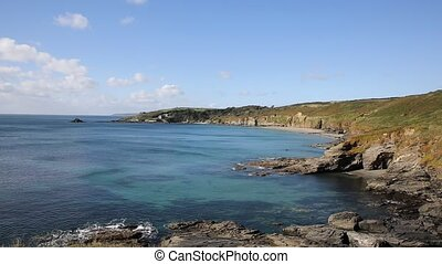 Beautiful secluded cove in Cornwall - Kenneggy Sand Cornwall...