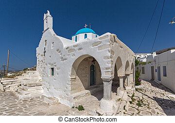 White Church in Parikia