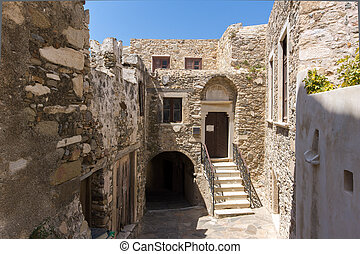The Venetian castle in Naxos island, Cyclades