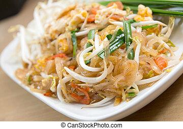 Pad thai, Stir fry noodles with shrimp