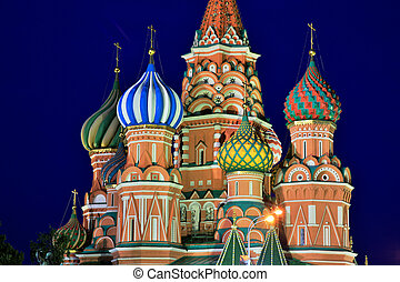 Saint Basils Cathedral, Moscow, Russia - Saint Basils...