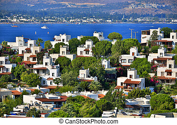 bodrum, holiday destination in turkey - summer houses in...
